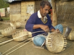 Busket making in chuadanga