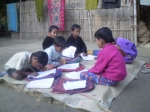 children-at-study
