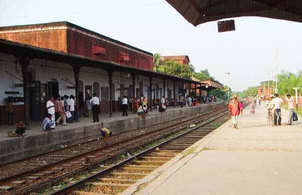 rail station of chuadanga
