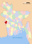 chuadanga district map