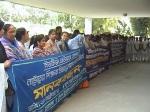 human chain Chuadanga 28.10.10