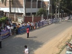 human chain Chuadanga 28.10.2010.