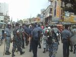 police against Chuadanga BNP 15..7.11