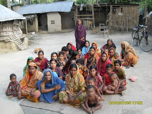 yard meeting in chuadanga