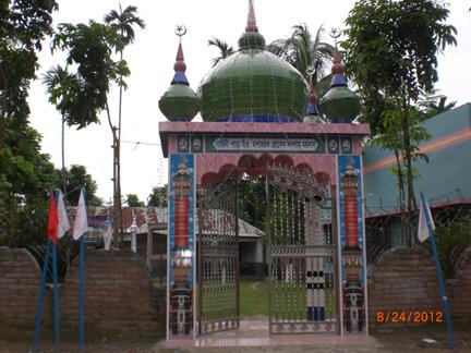 mosque near the residence of Mir mosarrof hossain, Kustia