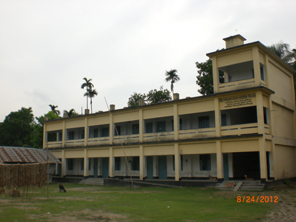 School in the residence of Mir mosarrof hossain, Kustia