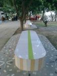 bench in montu miyar bagan bari