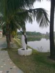Statue (2) in montu miyar bagan bari
