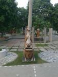 Statue (3) in montu miyar bagan bari