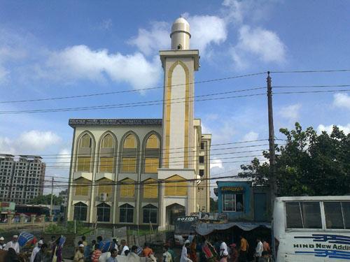 Mirpur shahi masjid & madrasa complex