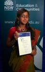 Sara hossain, a Bangladeshi girl, received Minister award in Australia