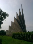 Jatiyo Sriti Shoudho-National Martyrs' Memorial-Adjacent view-Back View (1)