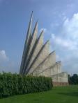 Jatiyo Sriti Shoudho-National Martyrs' Memorial-Adjacent view-Back View (1)
