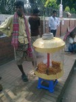 Jatiyo Sriti Shoudho-National Martyrs' Memorial-Adjacent view-Hawker