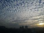 Strange look of sky in Dhaka