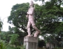 The Roadside Monument at Agargaon Colony