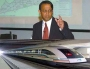 Ataul Karim, a Bangladeshi scientist, one among the best 100 scientists of the world, invented train which will not touch the line
