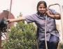 Salma Khatun, the first ever female train driver or locomotive master ofBangladesh