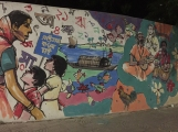 The wall painting at Dhaka University (5)